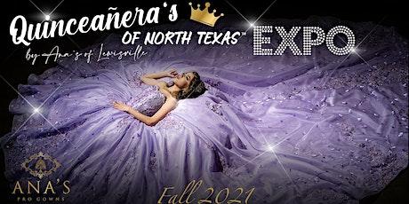 Quinceañera's of North Texas Fall Expo-2021 tickets