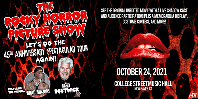 The Rocky Horror Picture Show: 45th Anniversary Spectacular Tour…AGAIN!