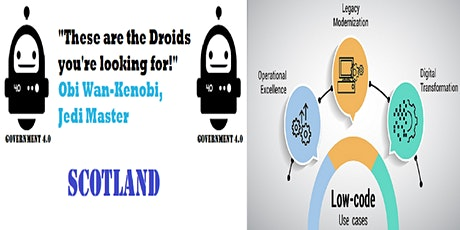 Government 4.0 SCOTLAND: Low-code & No-code Platforms tickets