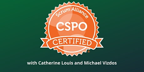 CSPO (Certified Scrum Product Owner) training with the Scrum Alliance tickets