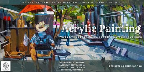 Acrylic Painting with Artist Larisa Clevenger tickets