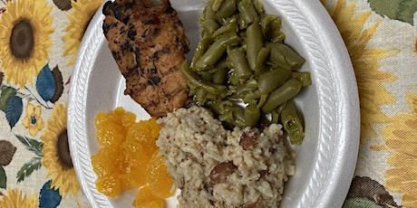 Shiloh Baptist Church Wednesday night meals tickets