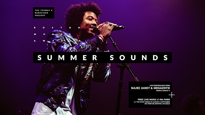 Summers Sounds with Najee Janey and Jake Swamp & The Pine image
