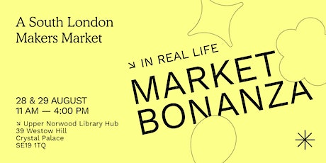 A South London Makers Market in Crystal Palace tickets