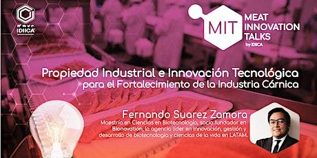 Propiedad Industrial e Innovación Tecnológica boletos