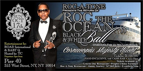 Roc-A-Tone Black and White Ball Boat Cruise tickets