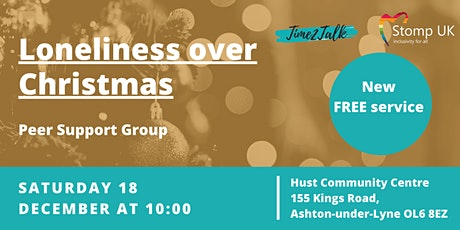 Lonelinessover Christmas - Peer Support Group tickets