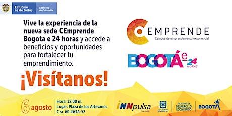 Lanzamiento Sede CEmprende Bogotá-E tickets