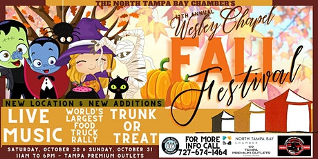 17th Annual Wesley Chapel Fall Festival & Worlds Largest Food Truck Rally12 tickets
