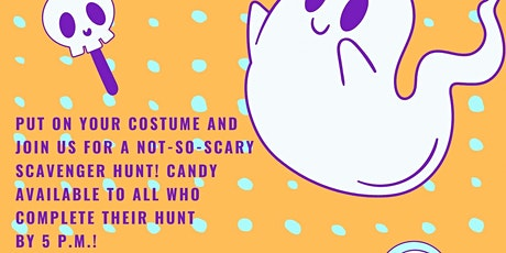 A Not-So-Scary Scavenger Hunt! tickets