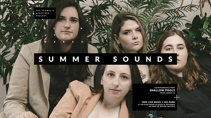 Summer Sounds with  Shallow Pools and Everway image