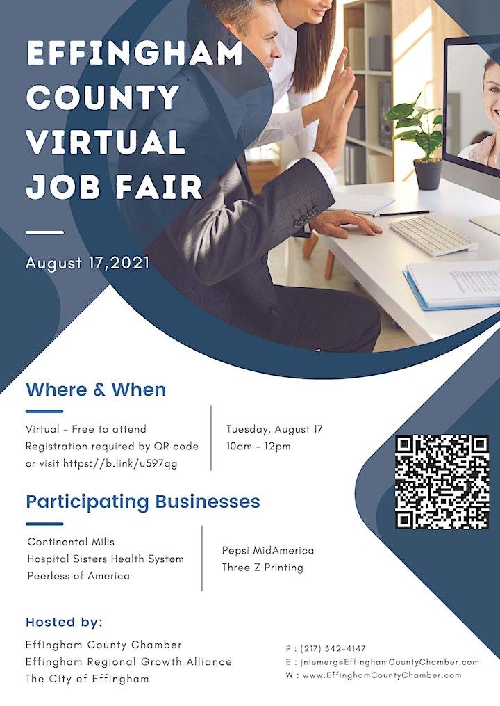 Effingham County Virtual Job Fair image