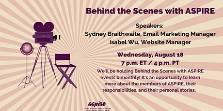 Behind the Scenes with ASPIRE tickets