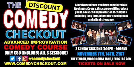 Advanced Improvisation Comedy Course - November - Leeds (3 Sundays) tickets
