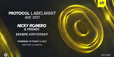 Nicky Romero presents: Protocol Labelnight ADE '21 tickets