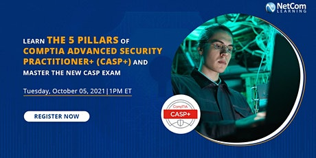 Webinar -Learn the 5 Pillars of CompTIA Advanced Security Practitioner tickets