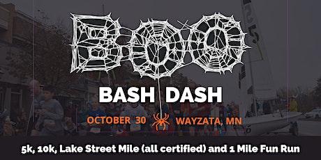 Wayzata's Boo Bash Dash 10k/5k/1 Mile Run 2021 tickets