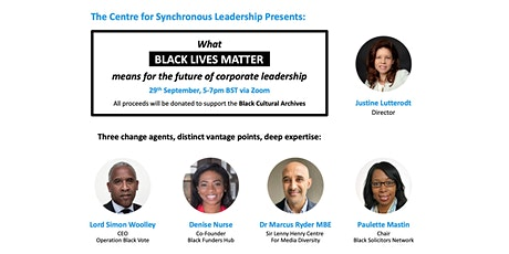 What BLM Means for the Future of Corporate Leadership tickets