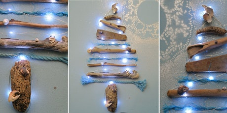 Driftwood Christmas Tree Canvas tickets
