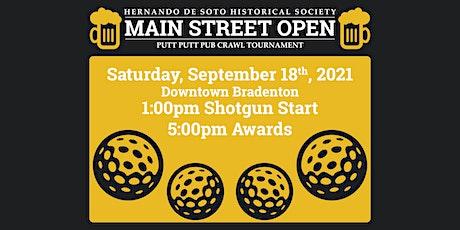 De Soto Main Street Open tickets
