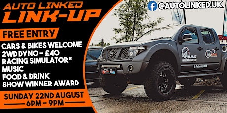 Link Up - Car Meet by Auto Linked tickets