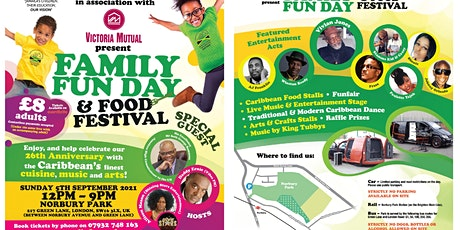 FAMILY FUN DAY & FOOD FESTIVAL tickets
