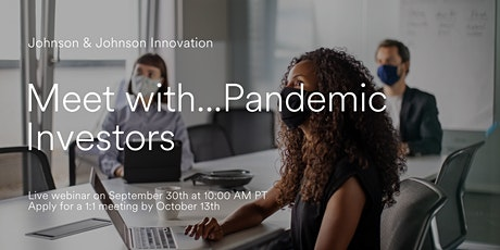 Meet with...Pandemic Investors tickets