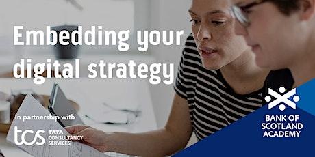 Embedding your digital strategy tickets