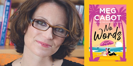 """In Person: An Evening with MEG CABOT discussing """"No Words"""" tickets"""