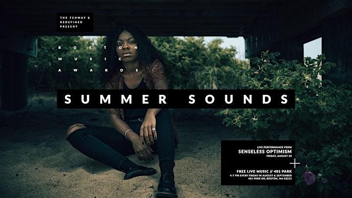 Summer Sounds with  Senseless Optimism and Jill McCracken image