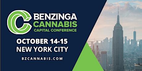Benzinga Cannabis Capital Conference: October 2021 tickets