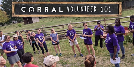 CORRAL Volunteer 101 Event tickets