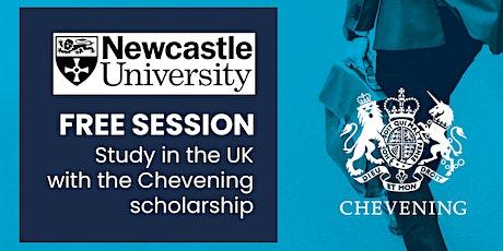 Estudia tu maestría con la beca Chevening en la Universidad de Newcastle entradas