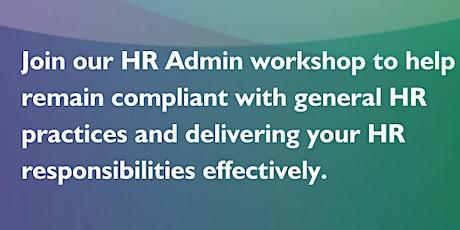 HR Administration workshop tickets