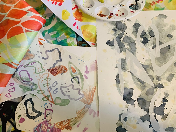 Painterly Printed Textiles Workshop with Olivia Howick image