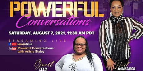 POWERFUL Conversation With Arlisia Staley Talk Show tickets