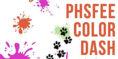 PHSFEE Color Dash tickets