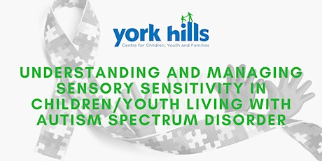 Understanding and Managing Sensory Sensitivity with ASD tickets