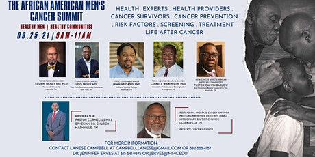 The African American Men's Cancer Summit tickets