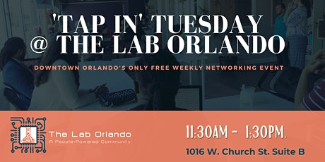 'Tap In' Tuesday Networking Event at The Lab Orlando tickets