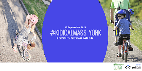 Kidical Mass Ride with York Cycle Campaign tickets