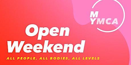 YMCA Club Open Weekend tickets