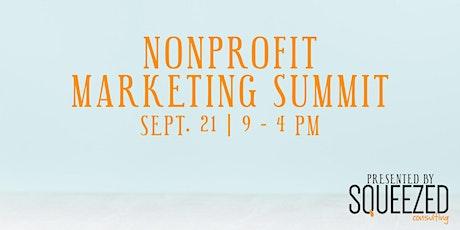 Nonprofit Marketing Summit tickets