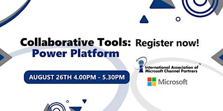 Taller: Herramientas Colaborativas Microsoft | Power Platform boletos