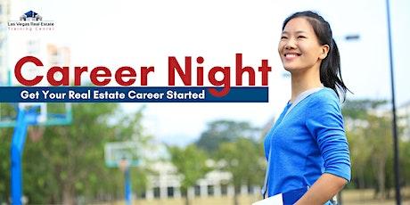 Nevada Real Estate Career Night tickets