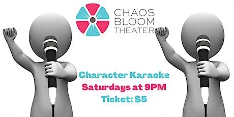 Character Karaoke tickets
