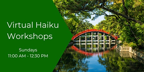 October Haiku Class : Hybrid tickets