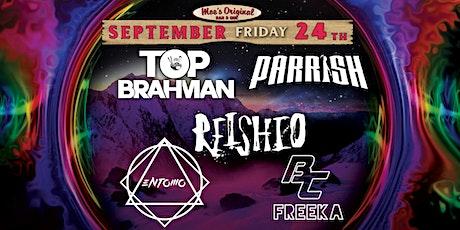Top Brahman x Parrish w/ Reishio + Entomo + BC x Freeka tickets