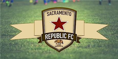 Sac Youth Pop Up Sacramento Soccer Night tickets