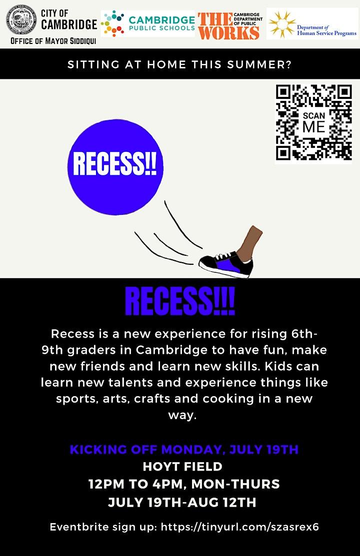 RECESS! Summer Program image